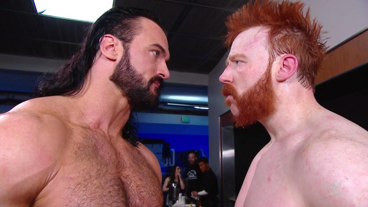 Alto escalão da WWE ficou impressionado com a luta entre Sheamus e Drew McIntyre no RAW