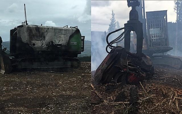 Ataque incendiario en la comuna Panguipulli