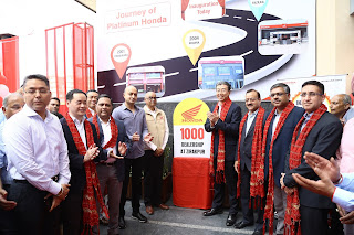 Press Release Honda 2Wheelers India inaugurates 1000th dealership
