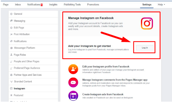 How To Connect Facebook Page To Instagram