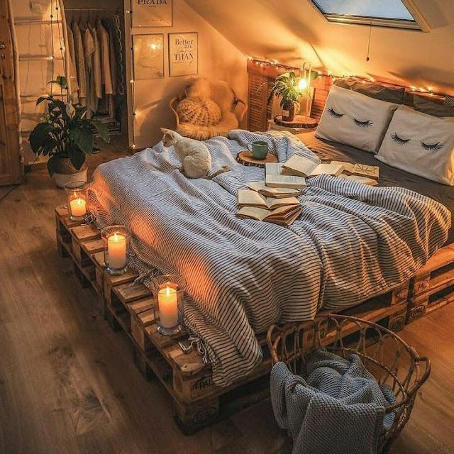 Desain Kamar Tidur Aesthetic