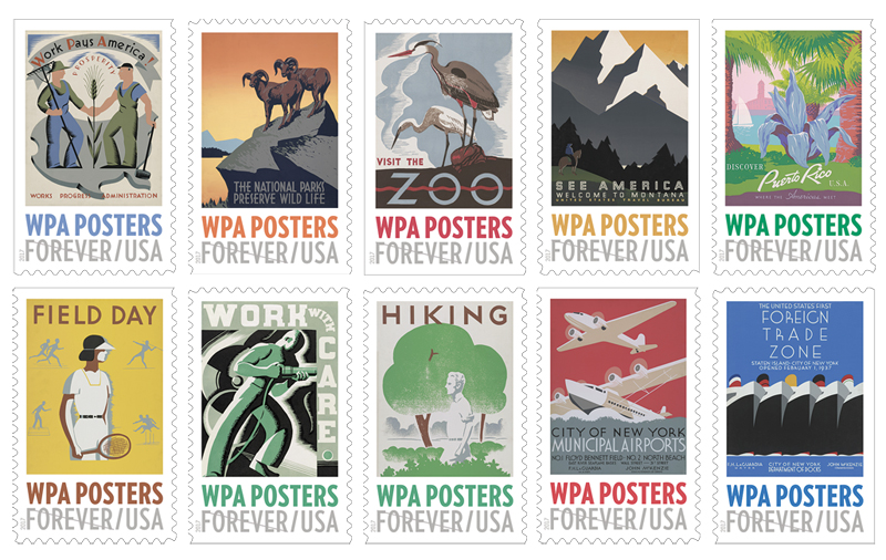 Collectorzpedia Usa 2017 Wpa Posters