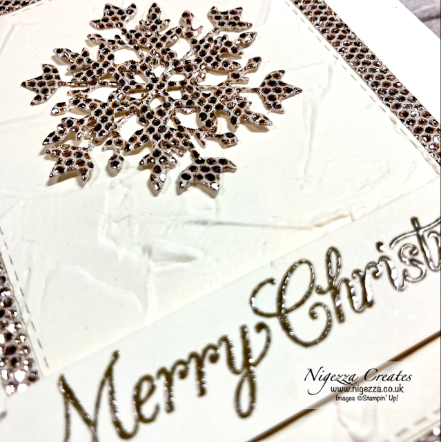 Be Dazzling Snowflake Christmas Card