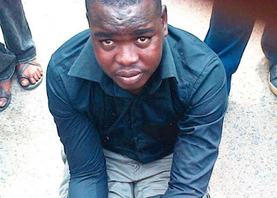Pictured! Fake Naval Officer Arrested, Weeks To Wedding