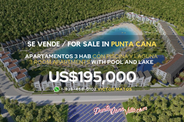 Apartament in Punta Cana with Beach and Pool