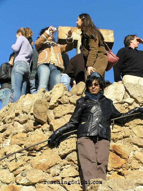 reaching delphi, park guell, Gaudi