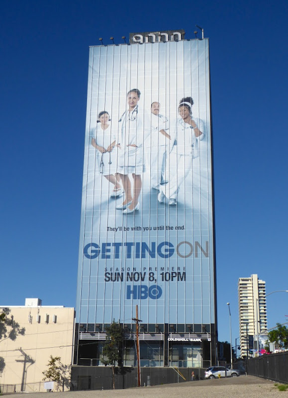 Giant Getting On season 3 billboard