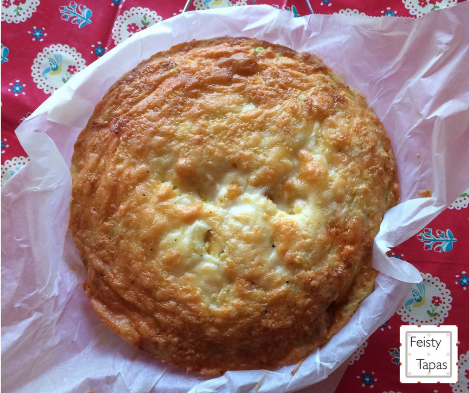 FEISTY TAPAS: Cheesy Chorizo Crustless Quiche (Thermomix and ...