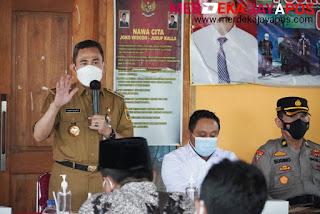 Bupati Pati Haryanto Sampaikan Pesan Pada Cakades ini Isinya