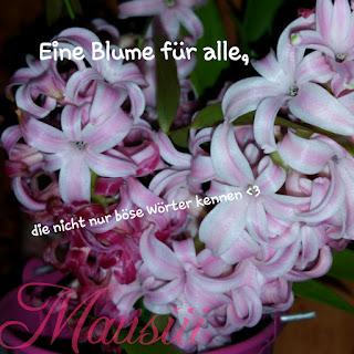 Von Bloggern - Blumen