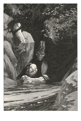 "Frankenstein ""Despondence"" Artist Edition Print by Bernie Wrightson x Nakatomi Inc"
