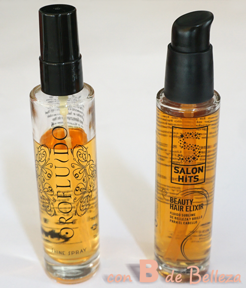 Comparación oro fluido y Salonhits