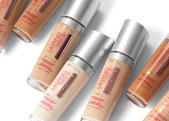 Rimmel Lasting Finish 25HR Breathable Foundation Review