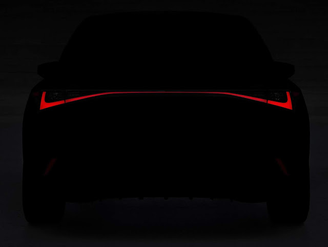 Novo Lexus IS 2021 chega dia 10 para enfrentar o Audi A4