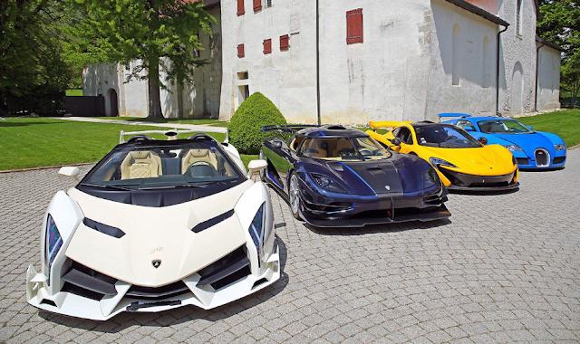 Confiscada colecção de carros de luxo do filho do presidente da Guiné Equatorial