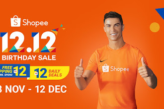 Shopee Birthday Sale 12 12 - GIFT OF THE GAP