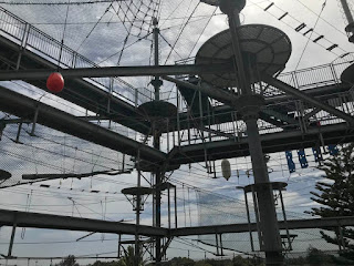 A ropes course