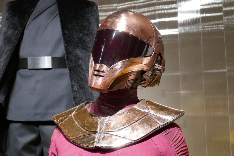 Star Wars Rise of Skywalker Zorii Bliss helmet