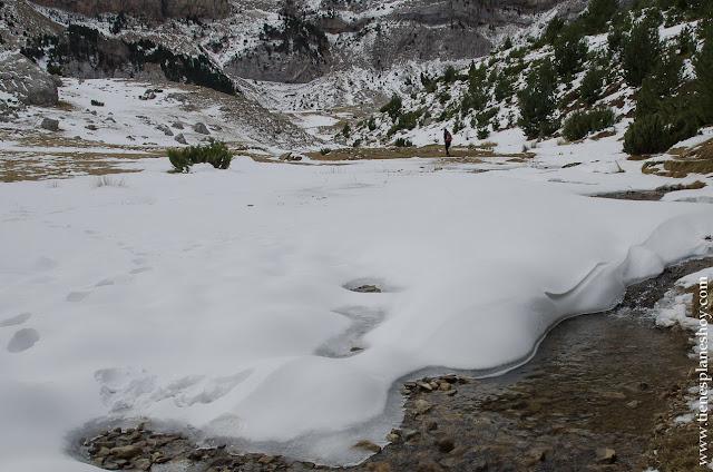 Ibón de Piedrafita nieve senderismo ruta sencilla
