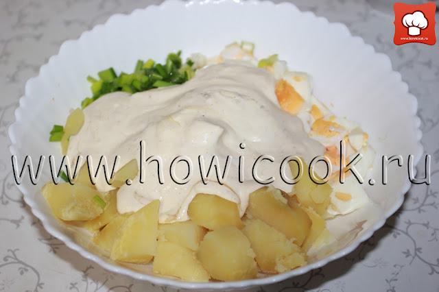 рецепт картофельного салата с пошаговыми фото