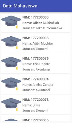 Screenshot_ListData Mahasiswa