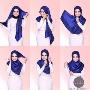 hijab bahan sifon