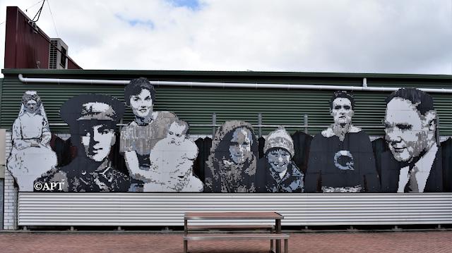 Queenstown TAS   Street Art
