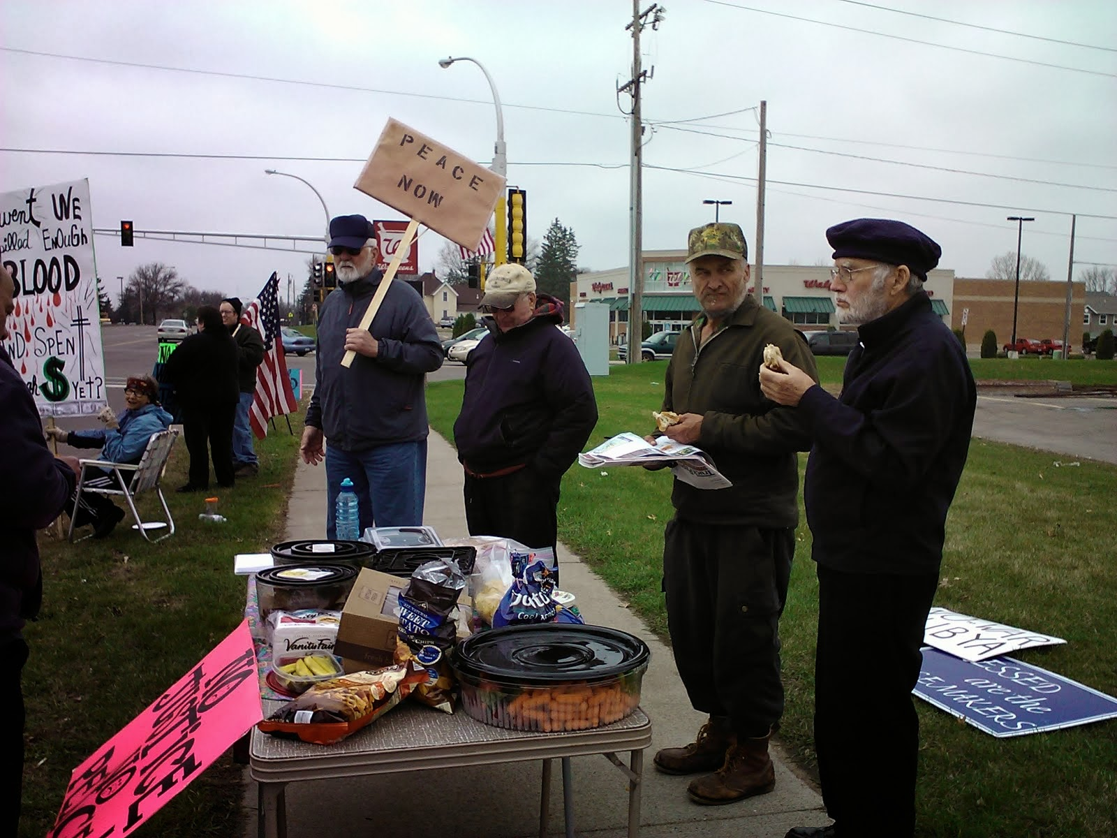 March 30,2012 Demonstration Little Falls, MN