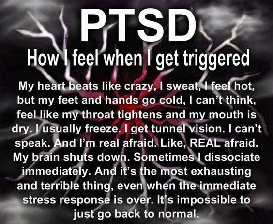 PTSD Quote Of The Day - 03/01/17