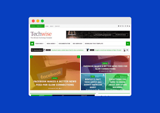TechWise Blogger Template Premium Free Download |