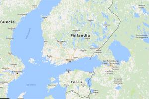 El lago Ladoga, al sureste de Finlandia, el más extenso de Europa