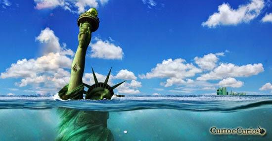 Estátua da Liberdade Submersa