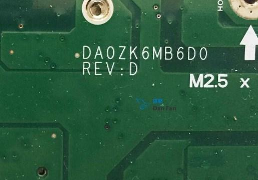DA0ZK6MB6D0 Rev D ZK6 Acer aspire 5739G Bios