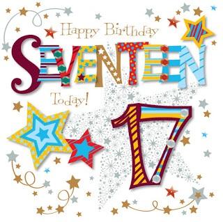 Heart Touching 17th Birthday Wishes - Happy 17th Birthday