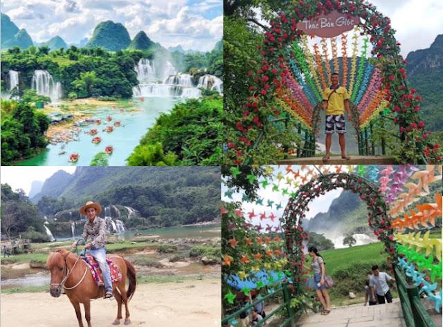 Ban Gioc Waterfall_Destinasi wisata di Vietnam