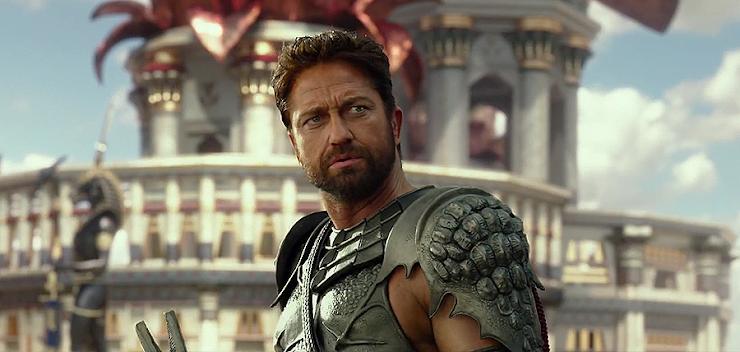 Gerard Butler în rolul zeului Set în Gods Of Egypt