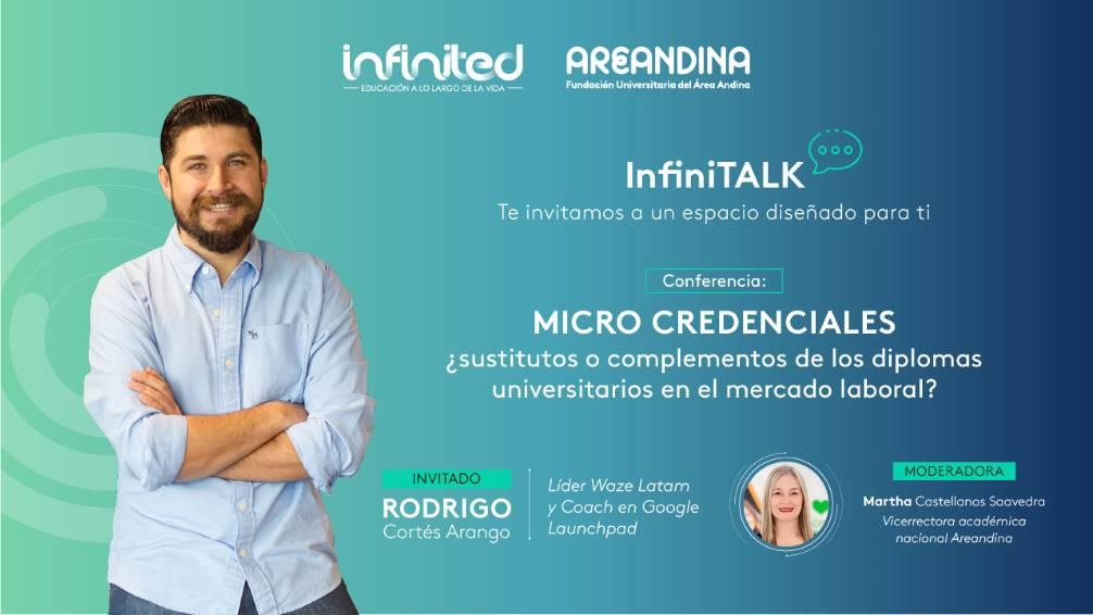 Areandina Infinited realiza primera versión de los InfiniTALK