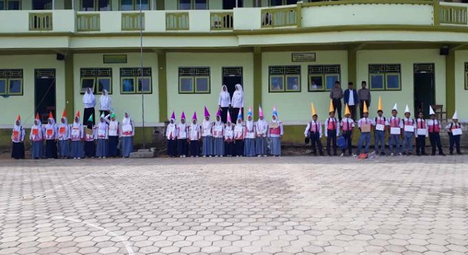 29 Siswa-siswi Baru Madrasah Mambaul Ulum Batu Gungsing, Ikuti Mosba Tahun Pelajaran 2020-2021