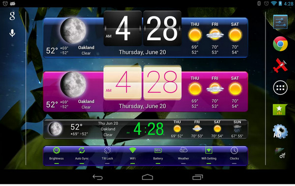Download hd widgets for android free