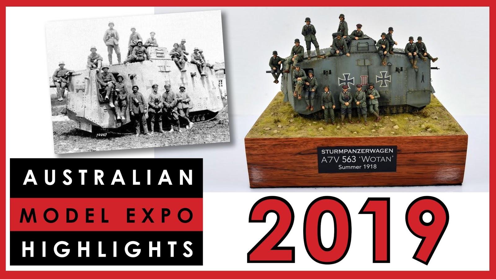 Best Years Expo 2019 Dave's Model Workshop: New video: Australian Model Expo 2019