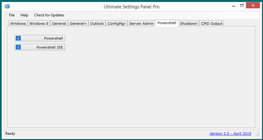 Ultimate Settings Panel Pro version 2.5 Released 10