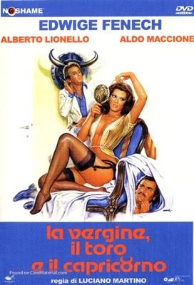 A VIRGEM, O TOURO E O CAPRICÓRNIO (LEGENDADO/DVDRIP) – 1977 Capa