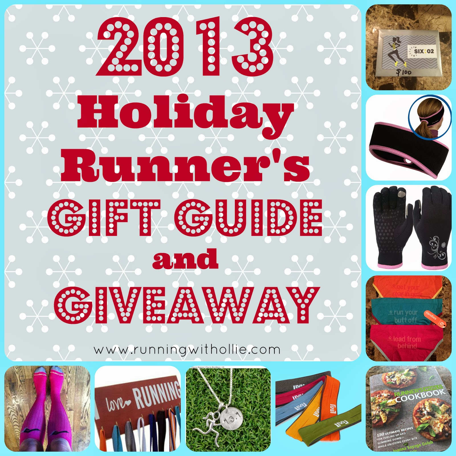 Christmas Gifts For Runners: RUNNING WITH OLLIE: 2013 Holiday Runner's Gift Guide And