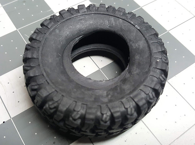 WPL B-24 Malformed RC Truck Tire