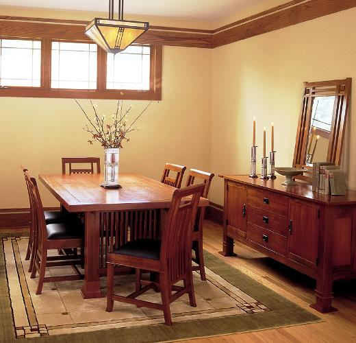 Antique mission style dining room furniture furniture design blogmetro - Mission style dining room furniture ...