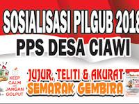 Download Contoh Spanduk Sosialisasi Pilgub 2018.cdr