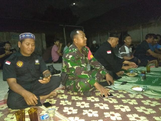 Babinsa Koramil 22 Wonosari Silahturahmi Dengan Warga PSHT