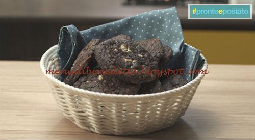 Pronto e postato - Cookies black & white ricetta Benedetta Parodi