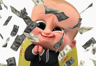 Bebé de Baby Boss le llueven dólares