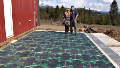 prototype of Solar Roadways